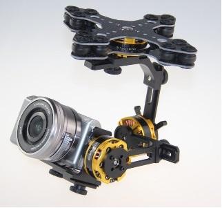 Gimbal Aluminio ADB360 Compact